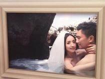 Lộ ảnh cưới bán nude lãng mạn của Lâm Y Thần