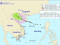 Bão số 1 đột ngột chuyển hướng không về Hải Phòng và Quảng Ninh