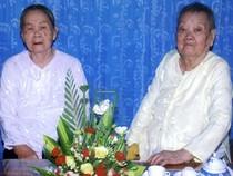 Hai chị em cao tuổi nhất Việt Nam