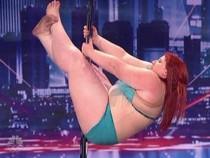 Màn múa cột của cô nàng béo ở America's Got Talent