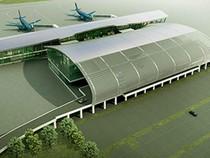 1.500 tỉ đồng xây nhà ga sân bay hình sừng trâu