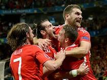 Thắng ngược Bỉ, xứ Wales hiên ngang vào bán kết