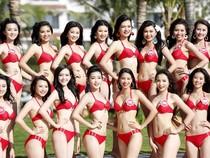 Bộ ảnh nóng bỏng các ứng viên Hoa hậu Việt Nam giữa biển xanh, nắng vàng