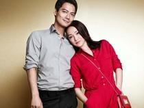 Khoảnh khắc tình tứ của vợ chồng sao châu Á