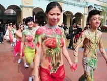 Sốc với đám cưới bán nude ở Trung Quốc