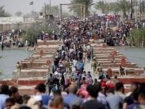 Ảnh: Người dân IRaq lũ lượt chạy trốn IS