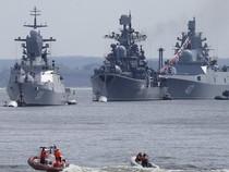 Tàu Hải quân Nga cập bến cảng Iran 'tăng cường niềm tin'