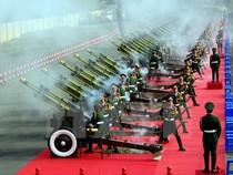 Chùm ảnh: 21 phát đại bác vang lên trong ngày Quốc khánh