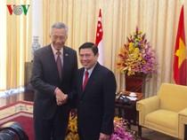Thủ tướng Singapore Lý Hiển Long thăm TP.HCM