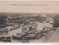 Ảnh hiếm về cây cầu quay độc đáo của Sài Gòn xưa