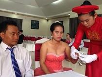Lễ cưới tập thể cho người khuyết tật, hoàn cảnh khó khăn