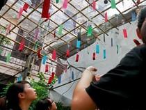 Lễ hội chuông gió - nét văn hóa độc đáo Xứ hoa Anh đào