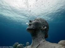 Độc đáo công trình mỹ thuật dưới đáy biển