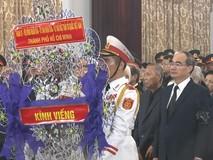 Lễ viếng nguyên Tổng Bí thư Đỗ Mười tại...
