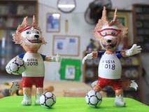 Thầy giáo về hưu làm linh vật World Cup...