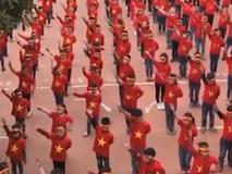 Hơn 1.000 học sinh hát vang 'Việt Nam ơi...