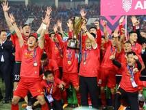 Giây phút đăng quang ngôi vô địch AFF Cup...