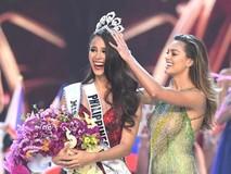Phút đăng quang Hoa hậu Hoàn vũ 2018 của...