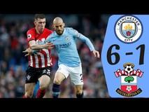 Man City - Southampton (6-1): Chơi 'tennis', lấy ngôi...