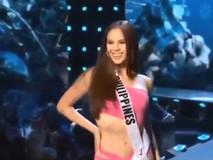 Điệu catwalk độc đáo của hoa hậu Philippines gây...
