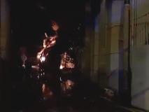 Clip: Đang cháy dữ dội ở Khu công nghiệp...