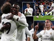 Real Madrid thắng dễ, đặt một chân vào tứ...