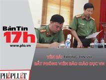 Yên Bái thông tin vụ bắt phóng viên Lê...