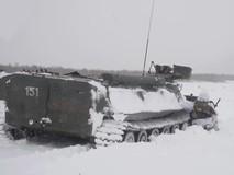 Hải quân Nga tập trận dưới trời đông khắc...