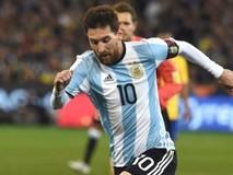 Messi lập hat-trick, Argentina giành vé dự World...