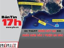Bộ TN&MT khảo sát lại nơi nhấn chìm...