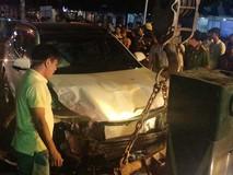 Nhân chứng kể lại vụ xe tông liên hoàn...