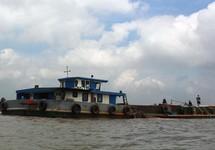 Bến Tre thông báo đóng cửa 2 mỏ cát trên sông
