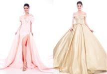 Lộ diện 4 chiếc đầm dạ hội Tiểu Vy mang đến Miss World