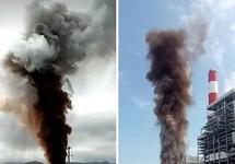 Vĩnh Tân 1 lên tiếng về việc thông lò hơi, khói bốc cao