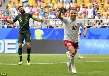 Bất phân thắng bại, Đan Mạch mở hội, Úc lâm nguy