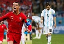 Ronaldo vẫn còn đá World Cup, Messi thì không