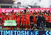 Khoảnh khắc đăng quang AFF Cup đầy cảm xúc của tuyển Việt Nam
