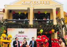 King Coffee khai trương quán mới tại Hội An