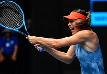 Sharapova 'hung hãn' loại đương kim vô địch Úc mở rộng