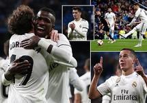 Real Madrid thắng dễ, đặt một chân vào tứ kết cúp Nhà vua