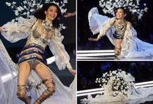 Siêu mẫu Trung Quốc 'vồ ếch' tại Victoria's Secret show