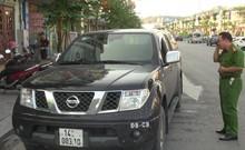Hiện trường vụ đập cửa ô tô cướp 3,5 tỉ đồng ở Quảng Ninh