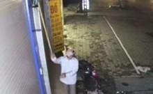 Camera quay cảnh tên trộm đi trộm... camera