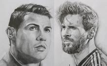 Ngôi sao World Cup qua nét vẽ của chàng trai 23 tuổi