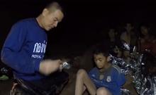 Hình ảnh mới nhất của đội bóng nhí Thái Lan