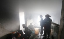 Bên trong căn hộ tầng 12 bốc cháy ở Đà Nẵng
