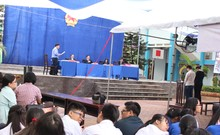 Giáo dục pháp luật cho học sinh qua phiên tòa lưu động