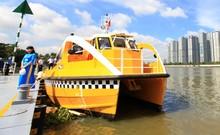 Trải nghiệm buýt sông đầu tiên ở TP.HCM