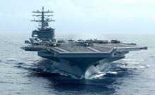 Siêu tàu sân bay Mỹ sắp tập trận sát Triều Tiên