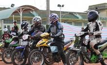 Clip kịch tính giải đua xe Vietnam Motor Cub Prix